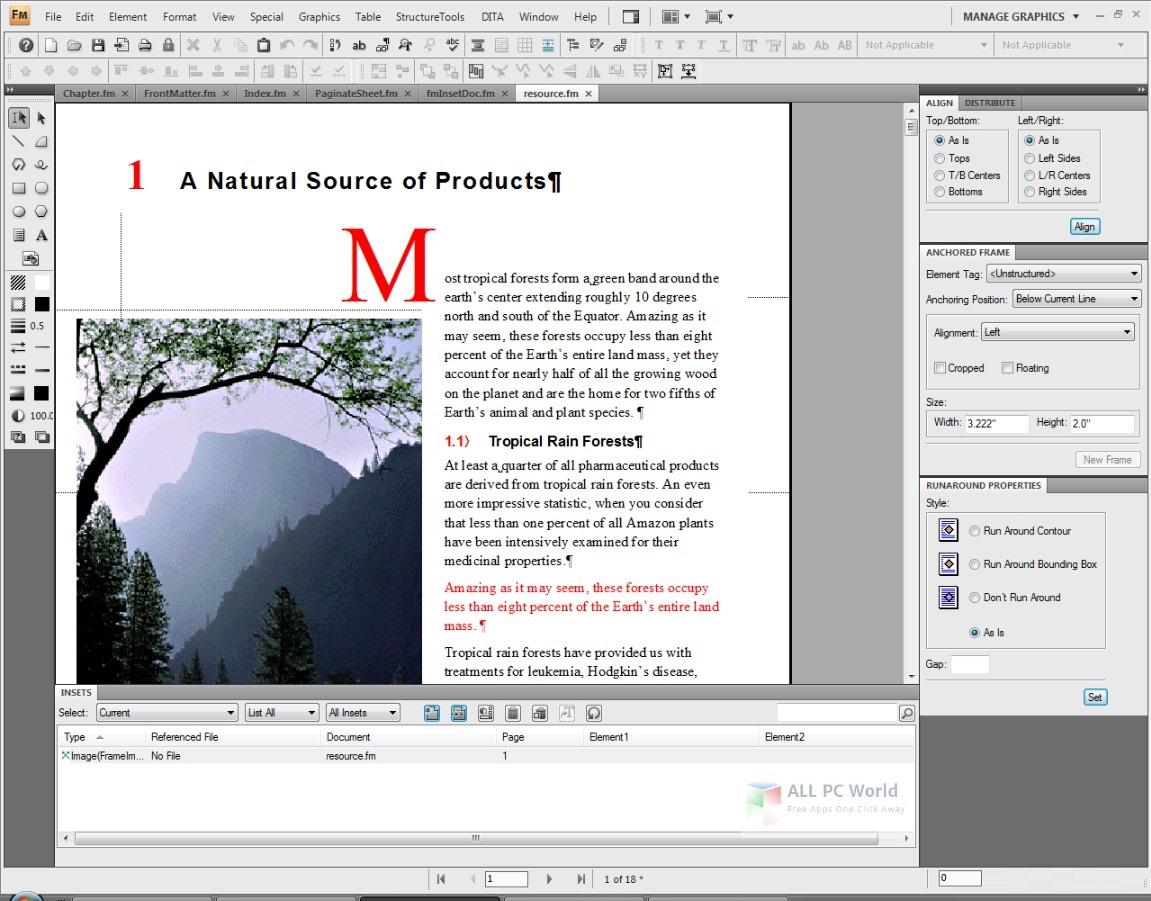 Adobe FrameMaker 2019 15.0 Free Download