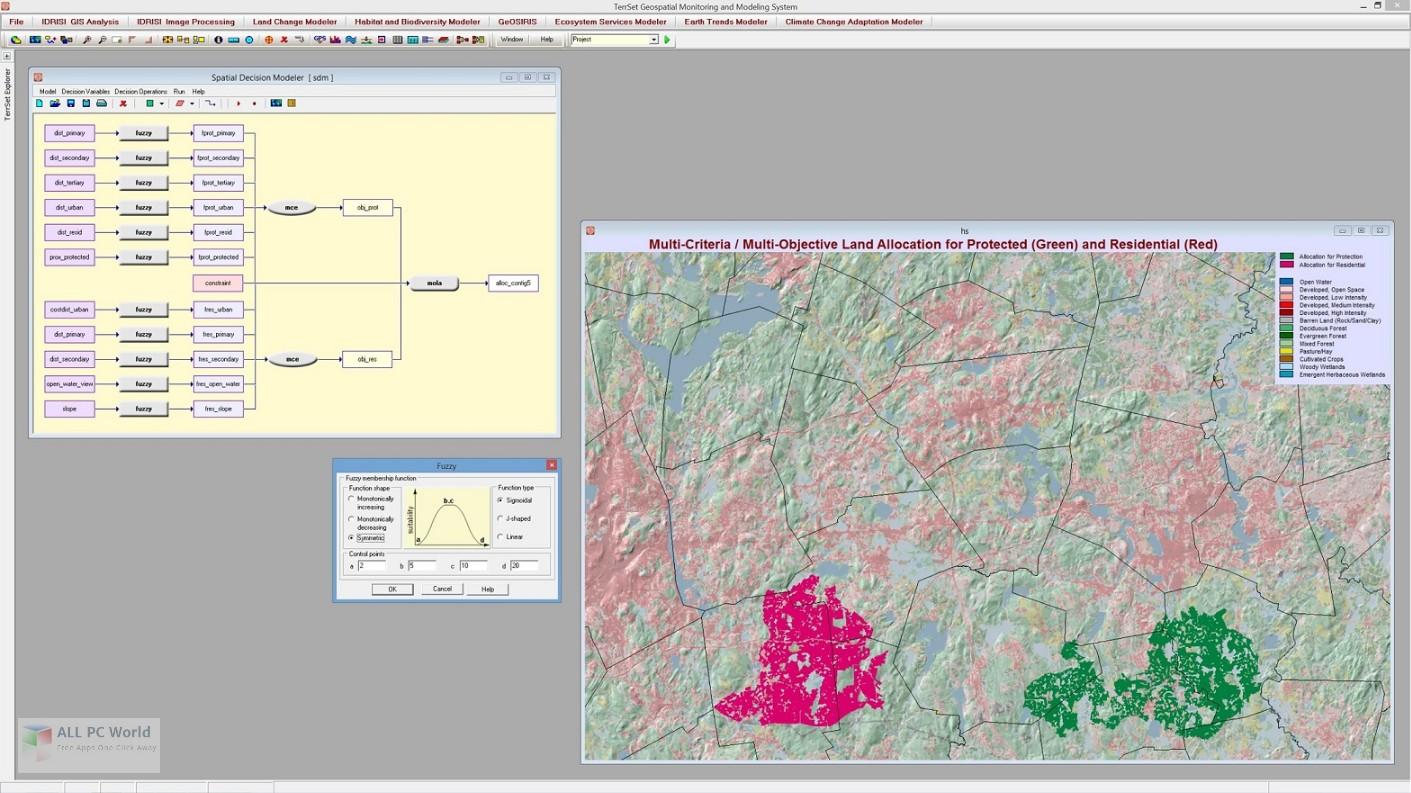 Clark Labs TerrSet IDRISI 18.3 Free Download