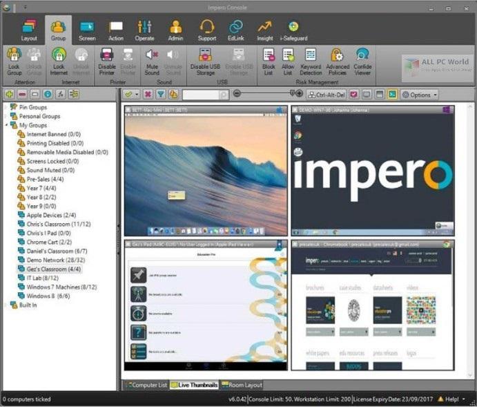 Impero Education Pro 5.1 Free Download