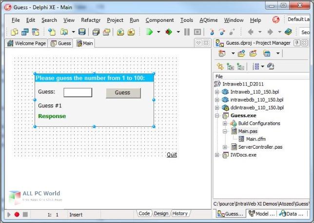 IntraWeb Ultimate 15.0 Free Download