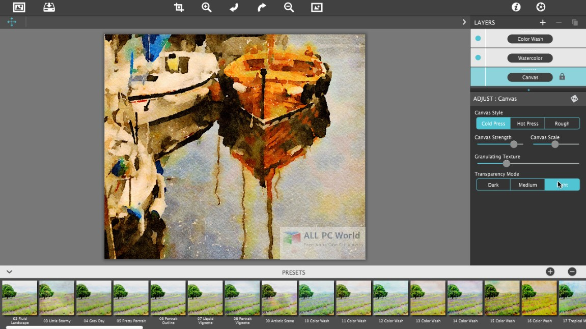 JixiPix Watercolor Studio 1.3 Free Download