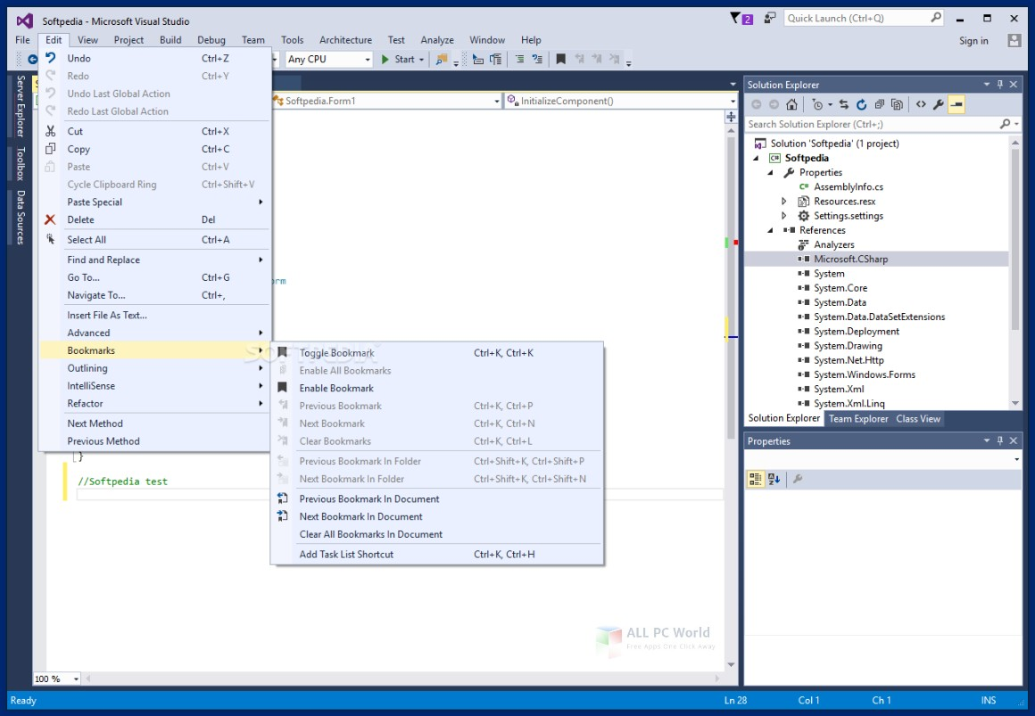 Microsoft Visual Studio 2017 15.7.6 Free Download