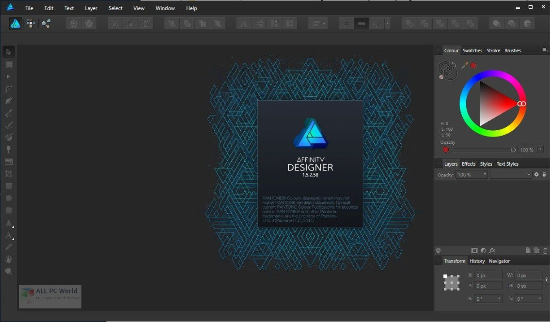 Serif Affinity Designer 1.6 Free Download