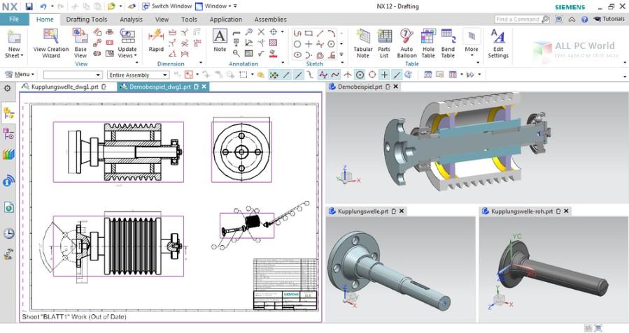 Siemens PLM NX 12.0 Free Download
