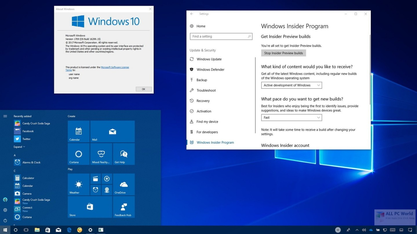 Windows 10 Pro RS4 with August 2018 Free Download