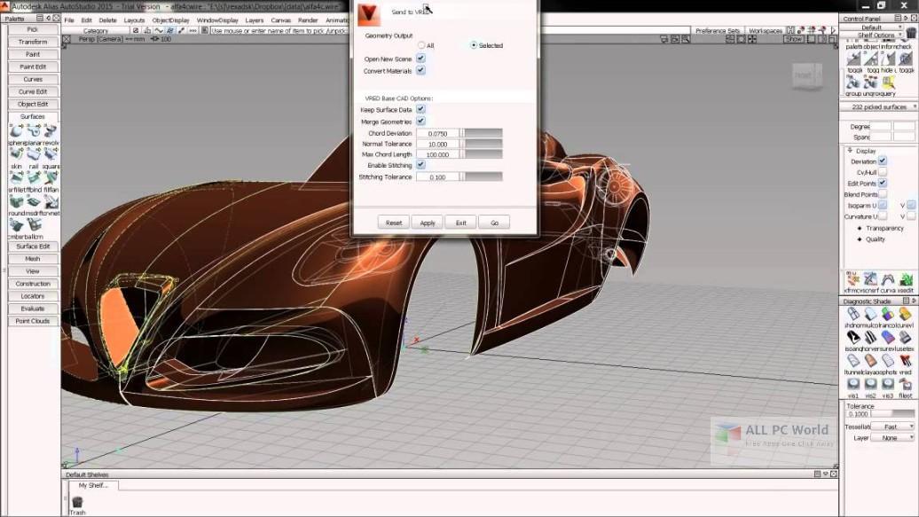 Autodesk Alias __Design 2019 Free Download