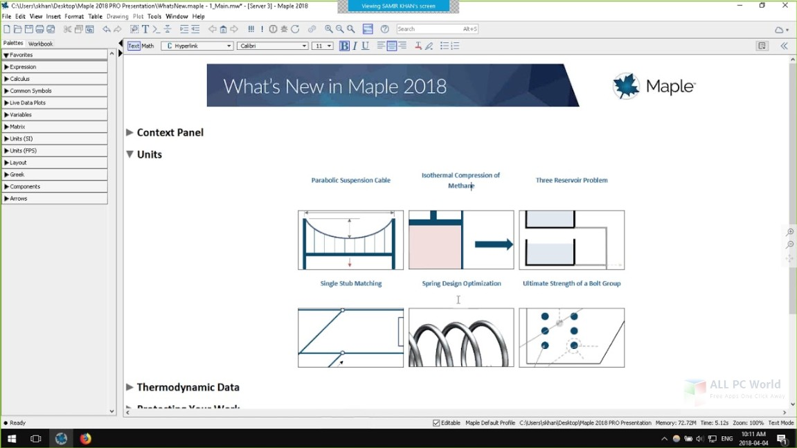 MapleSim 2018 Free Download