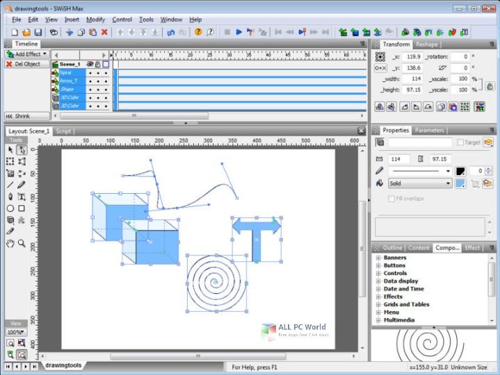 SwishMax 2.01 Suite Free Download