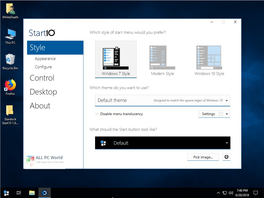 Windows 10 Lite Edition V7 2018 Free Download