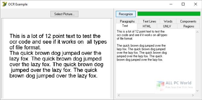 Winsoft Optical Character Recognition (OCR) 7.5 Free Download