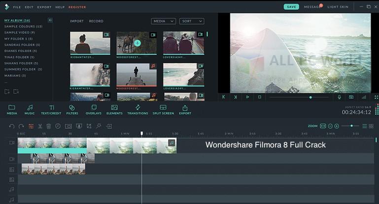 Wondershare Filmora 8.7.4.0 2018