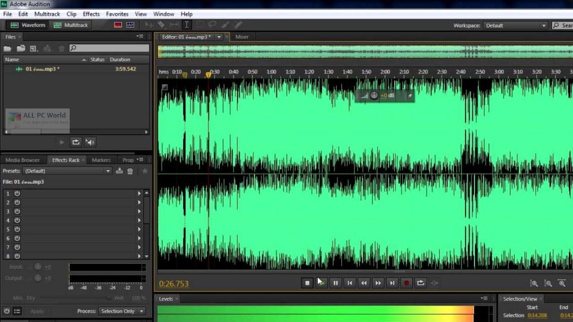 Adobe Audition CC 2019 v12.0 Free Download