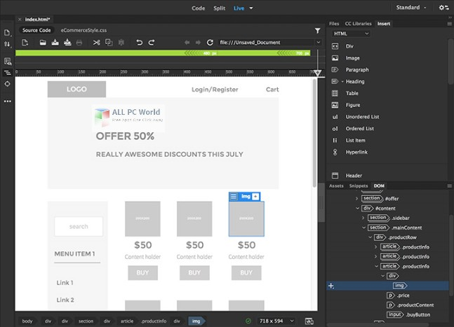 Adobe Dreamweaver CC 2019 v19.0