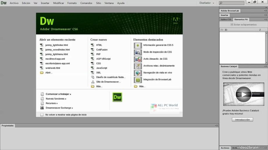 Adobe Dreamweaver CC 2019 v19.0 Free Download