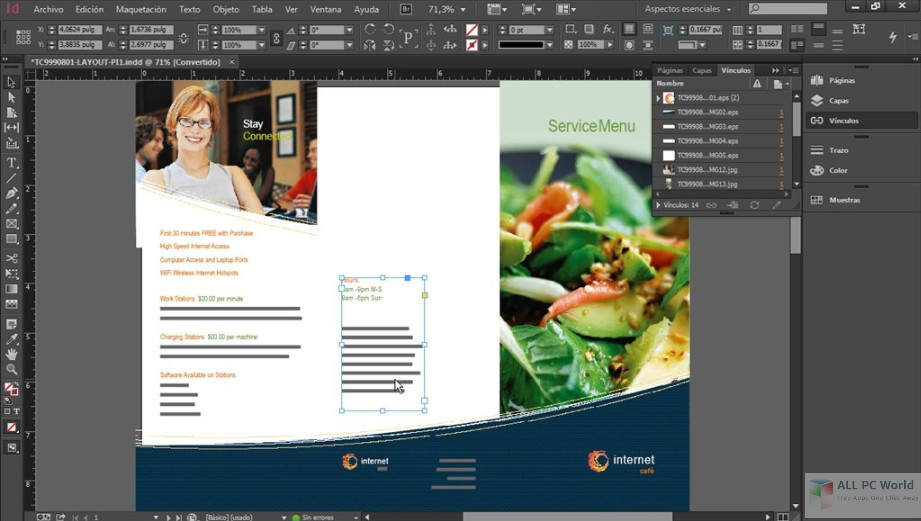 Adobe InDesign CC 2018 v14.0 Free Download