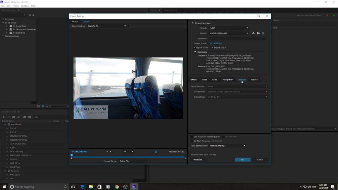 Adobe Media Encoder CC 2019 v13.0