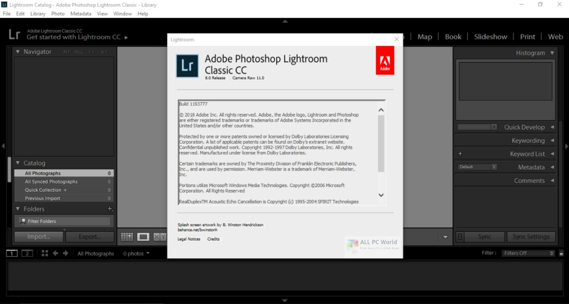 Adobe Photoshop Lightroom Classic CC 8.0 Free Download