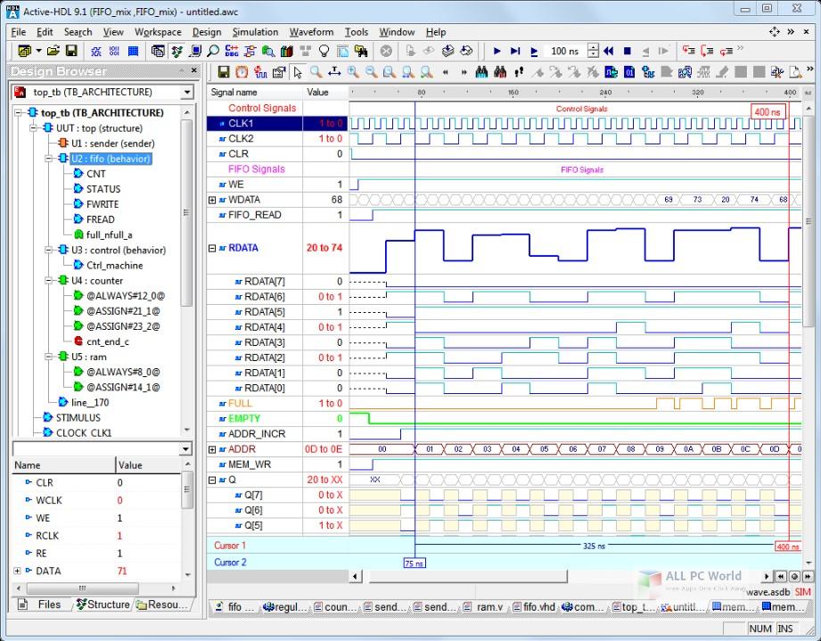 Aldec Active-HDL 10.1 Free Download