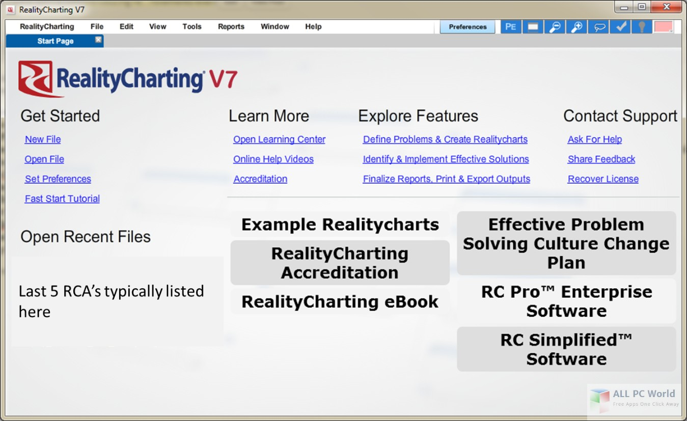 Apollonian Publications RealityCharting 7.9 Free Download