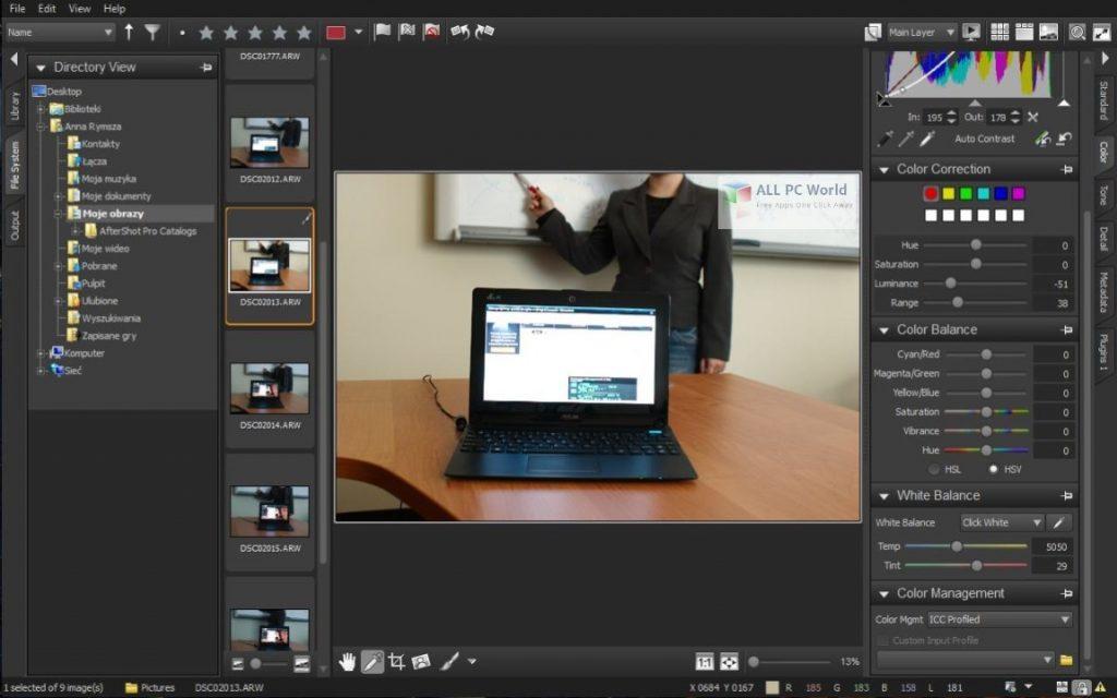 Corel AfterShot Pro v3.7