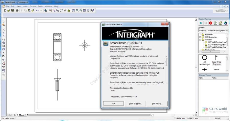 Intergraph SmartSketch 2014 R1