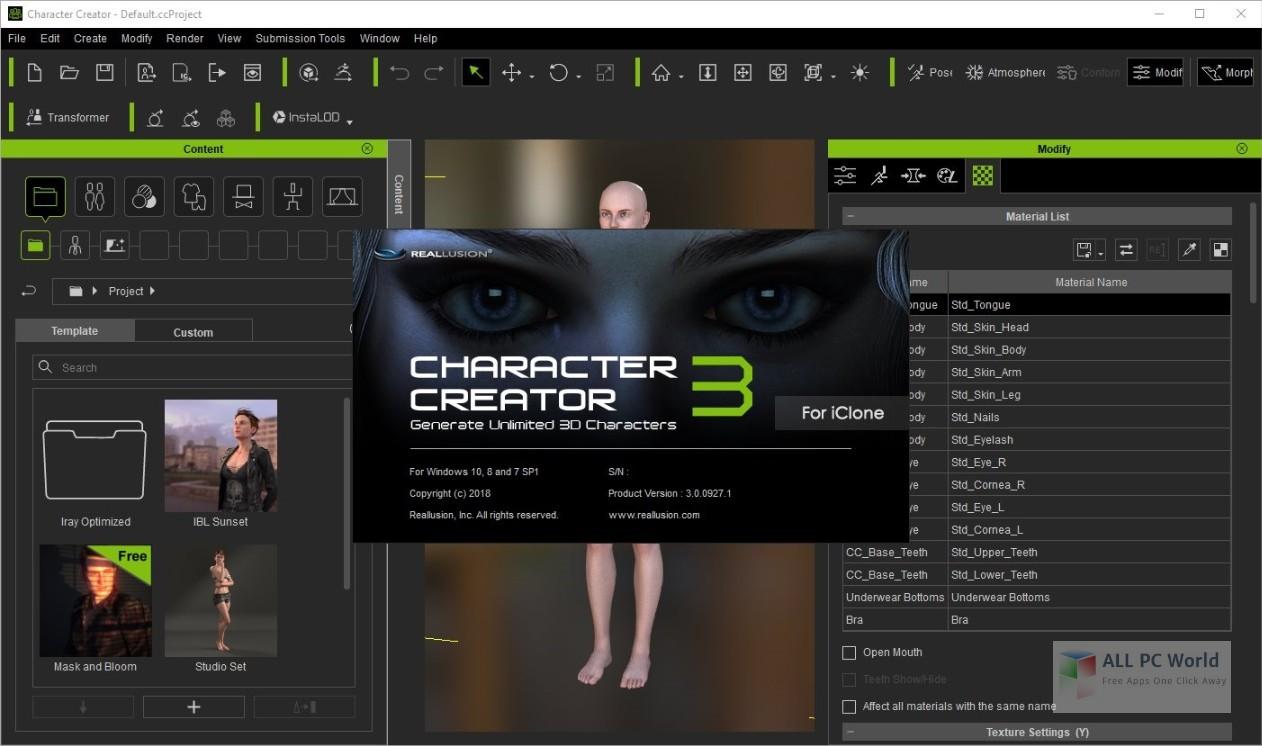 Reallusion Character Creator 3.0
