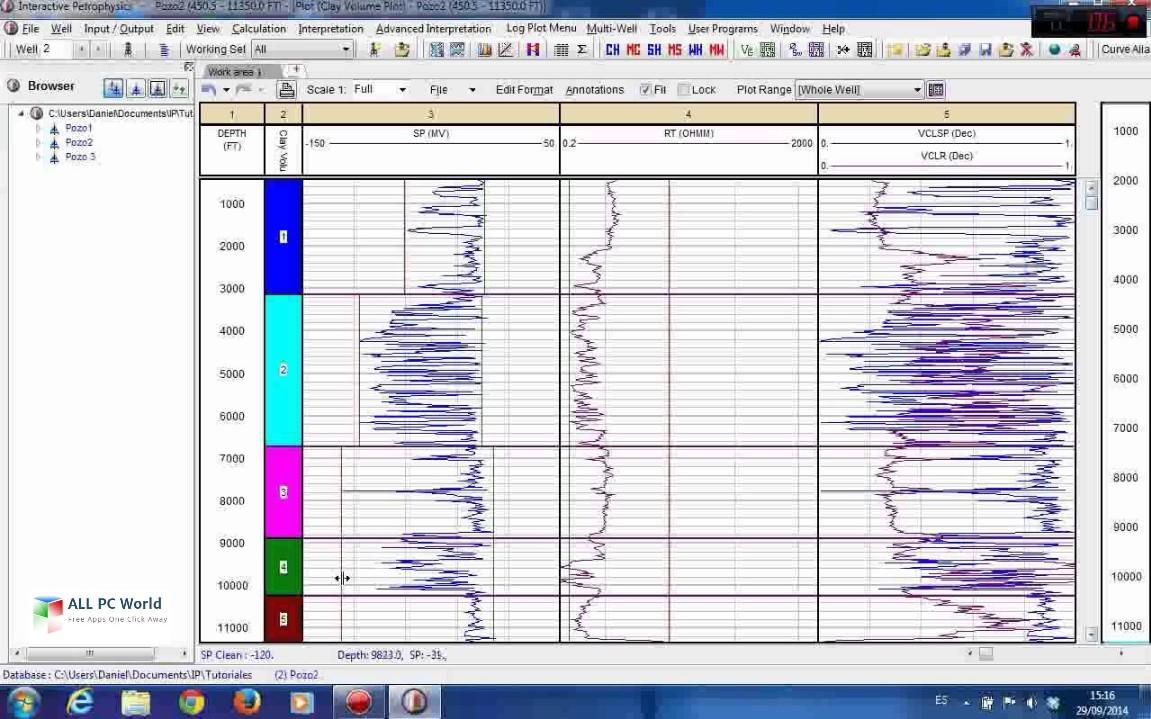 Senergy Interactive Petrophysics 4.2