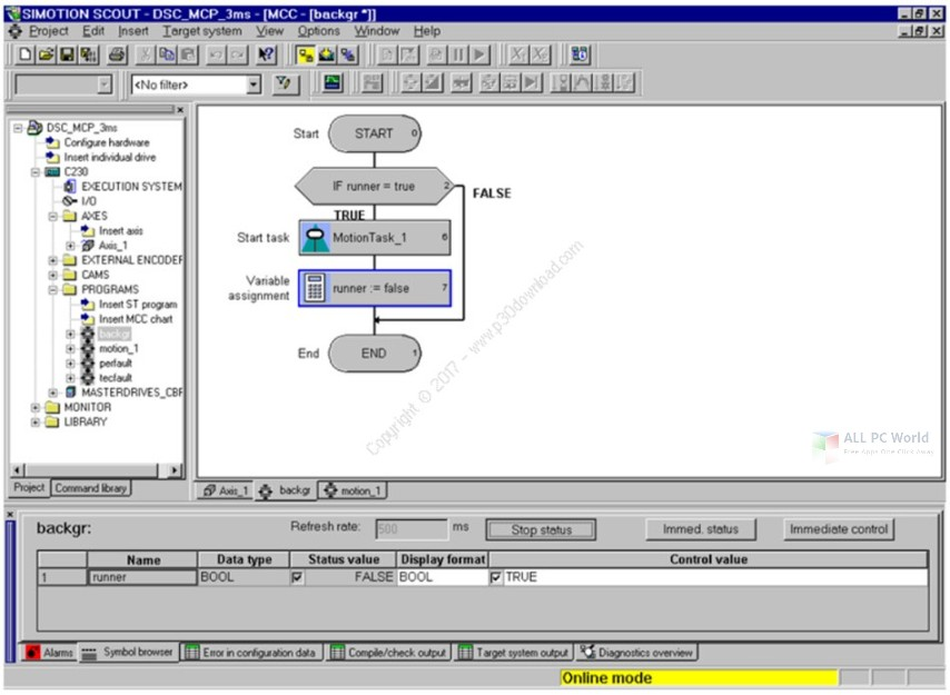 Siemens SIMOTION SCOUT 5.2 SP1 Free Download