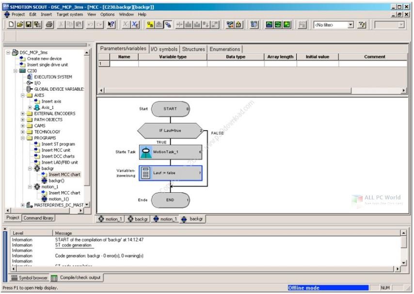 Siemens SIMOTION SCOUT 5.2 SP1