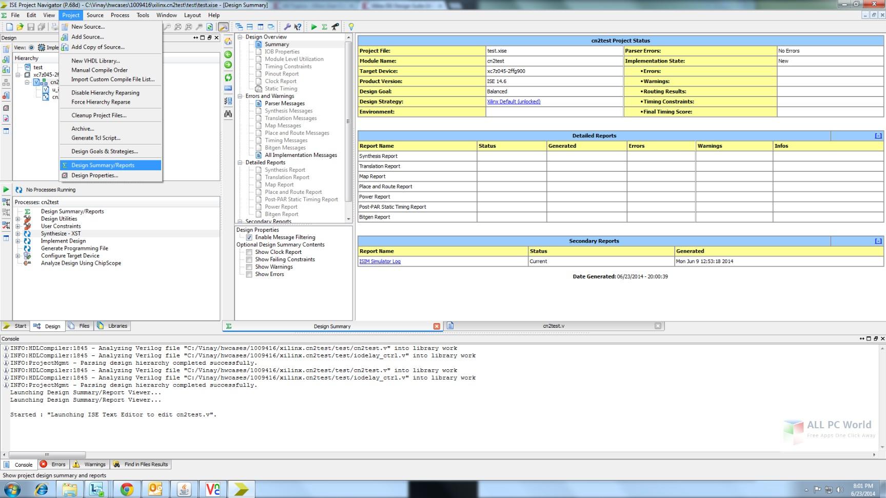 Xilinx ISE Design Suite 14.7
