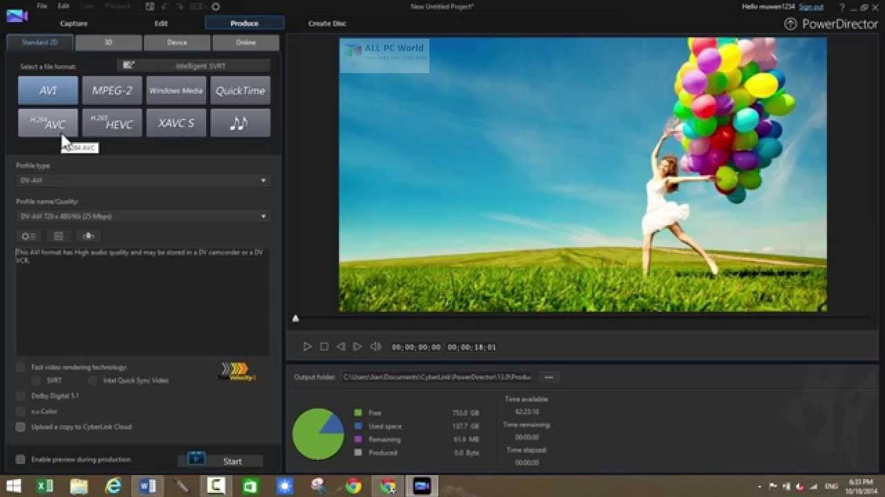 CyberLink PowerDirector Ultimate 17.0