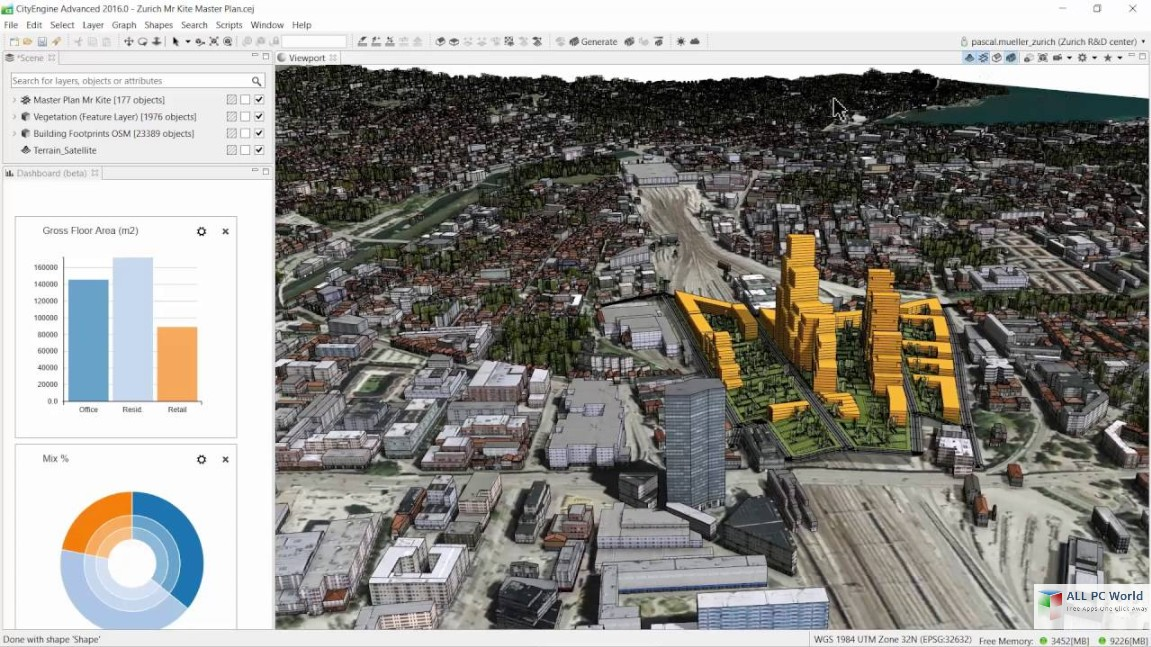 ESRI CityEngine 2016 Free Download