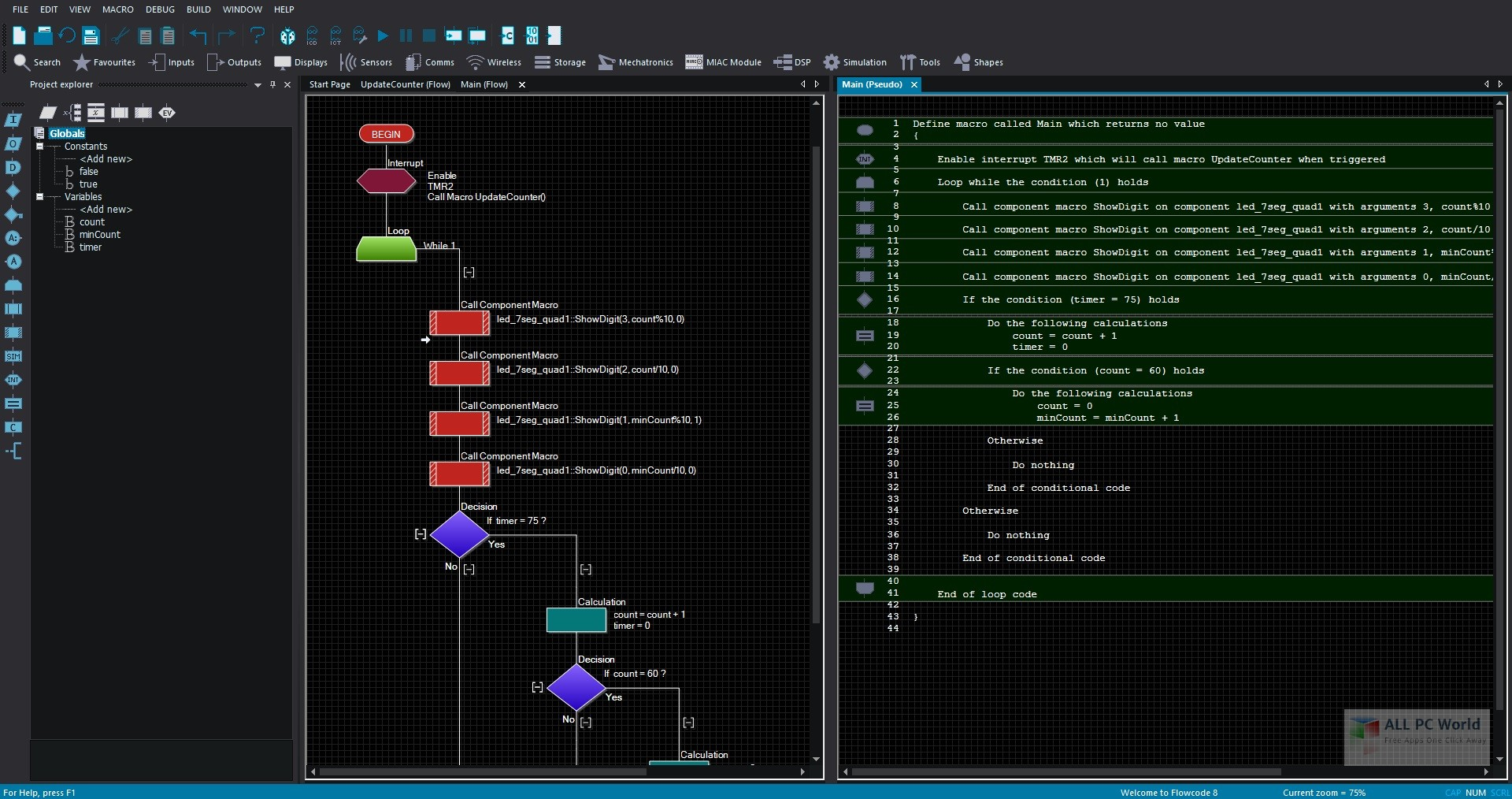 Flowcode Professional 8.0 Free Download