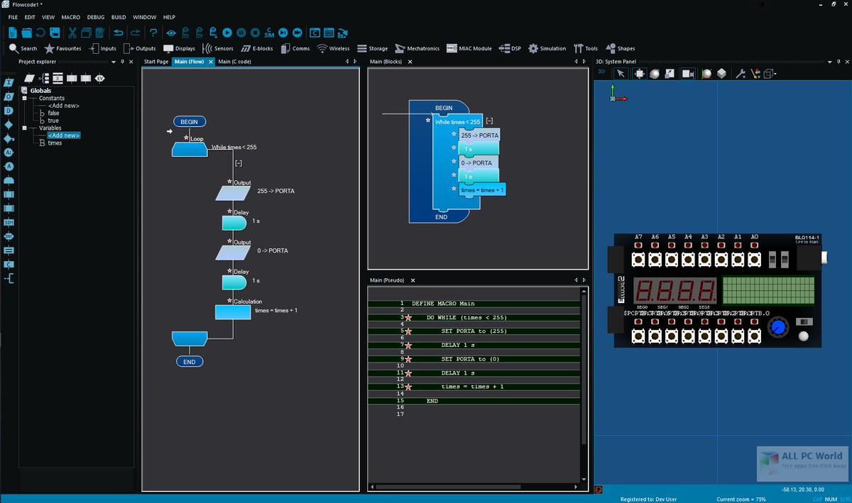 Flowcode Professional 8.0