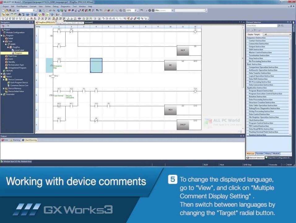 GX Works3 1.04 Free Download