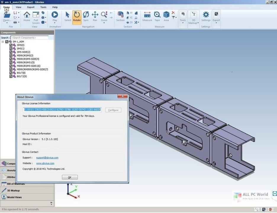 Geometric Glovius Pro 5.1 Free Download