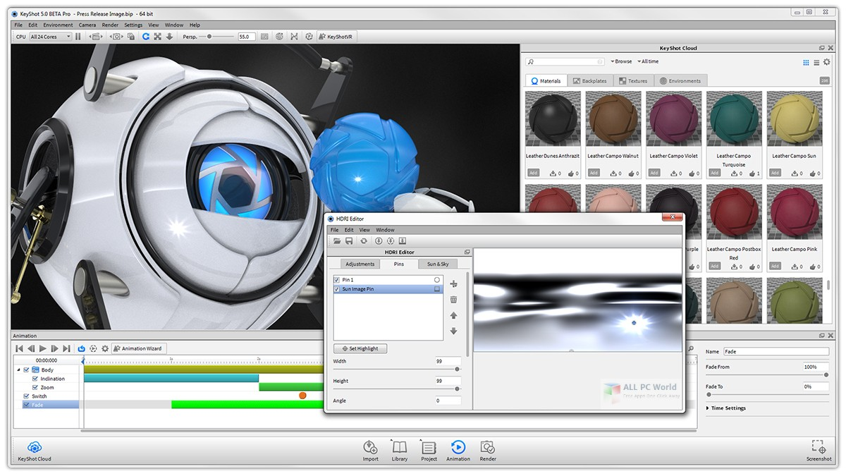Luxion KeyShot Pro 8.1