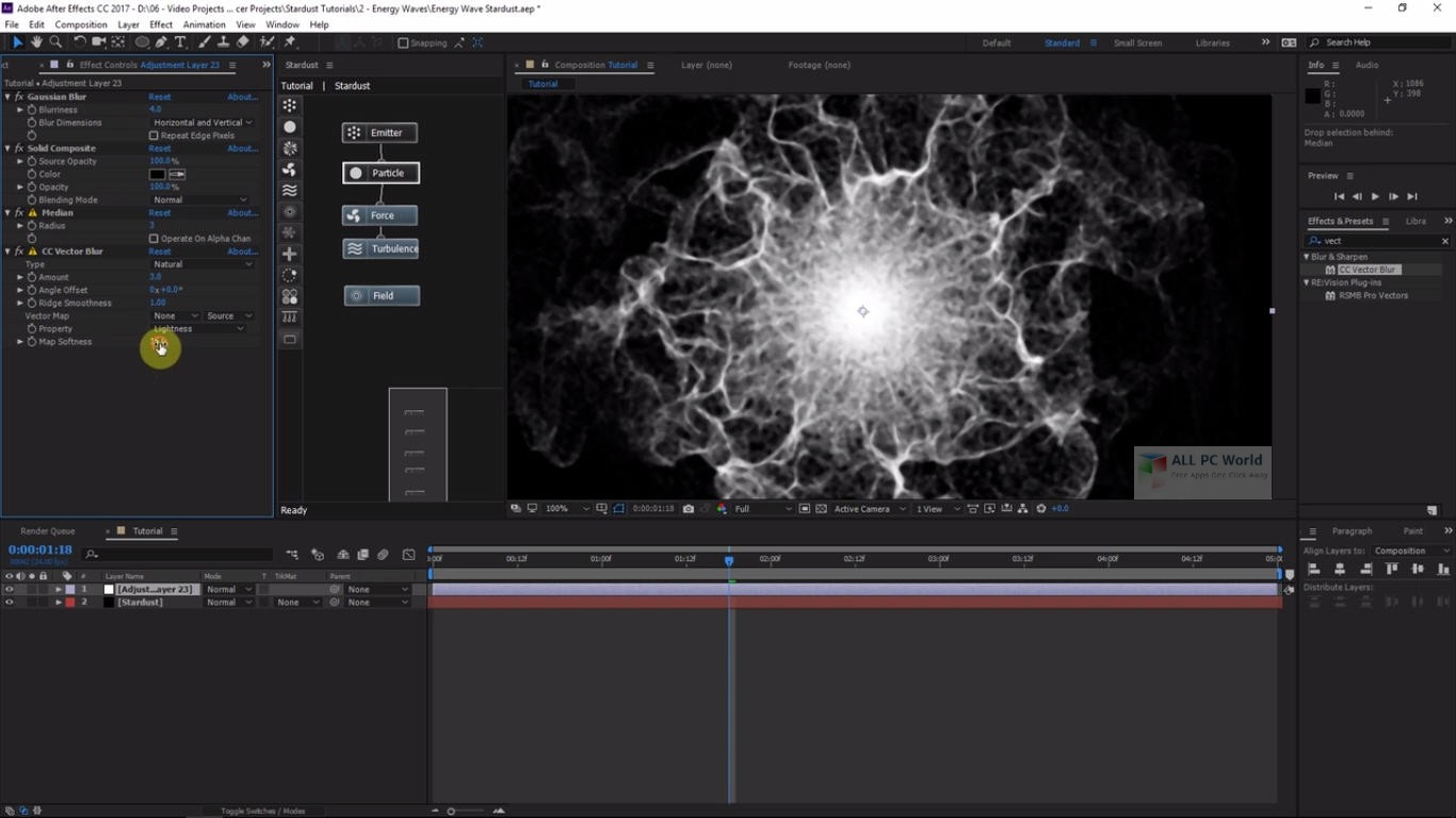 Superluminal Stardust 1.3.1 for Adobe After Effects Free Download