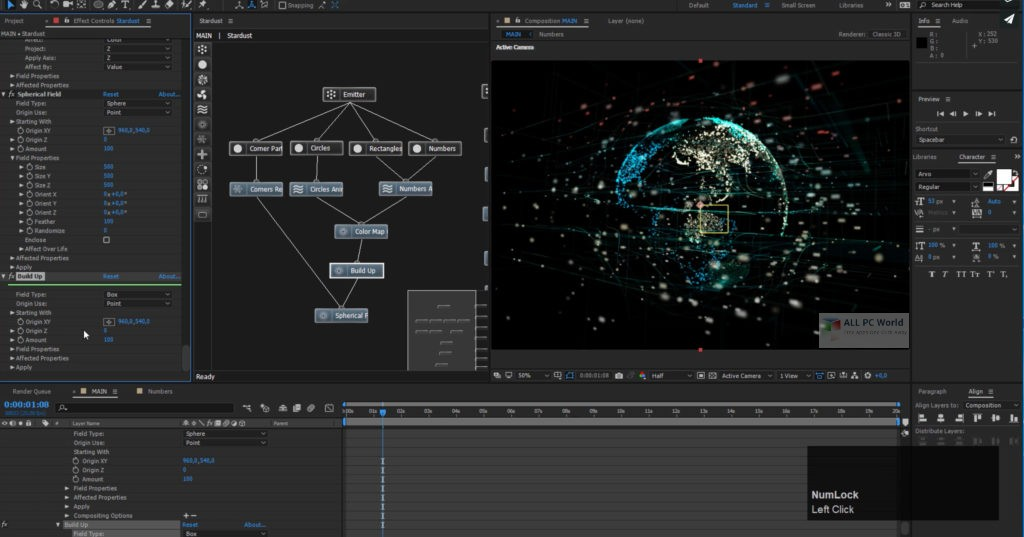 Superluminal Stardust 1.3.1 for Adobe After Effects