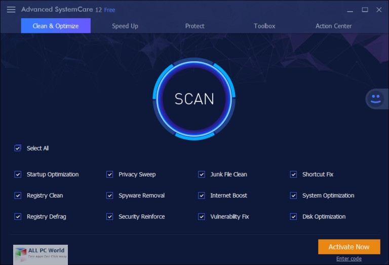 Advanced SystemCare Pro 12.0 Free Download