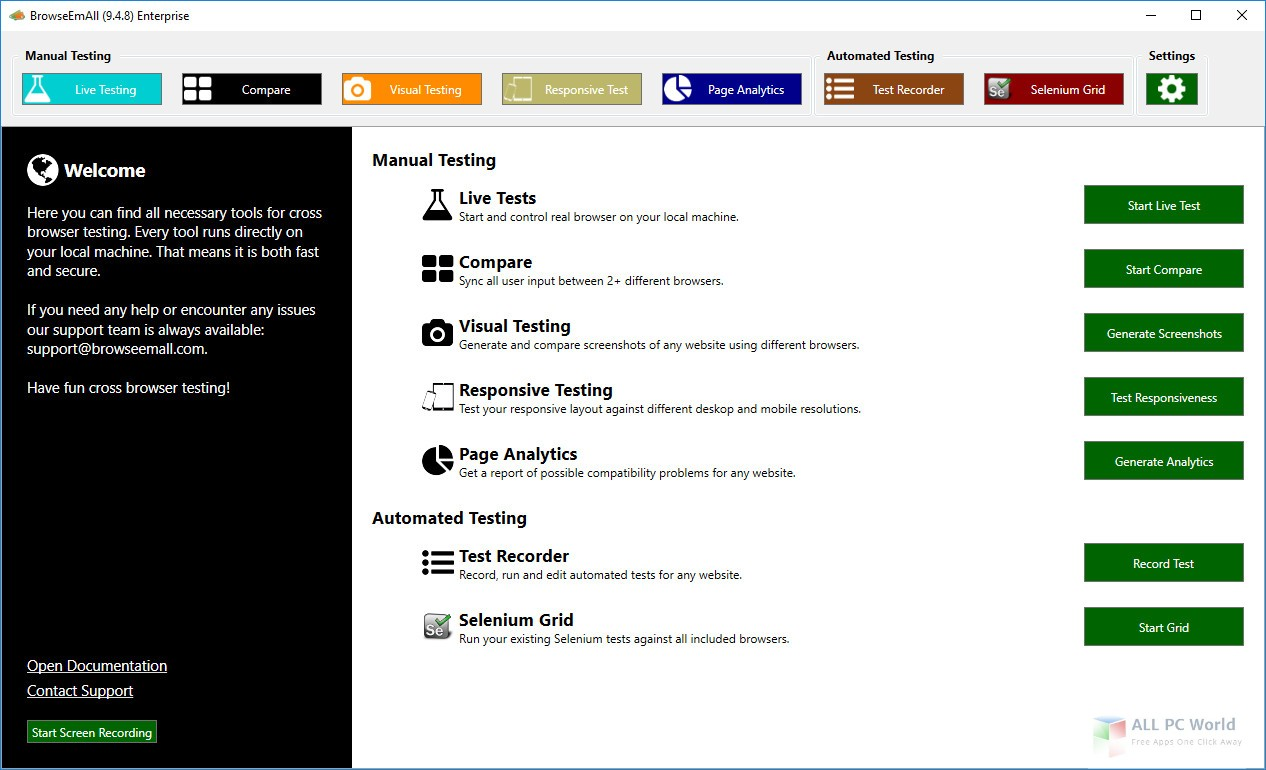 BrowseEmAll 9.5 Free Download