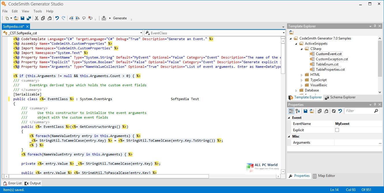 CodeSmith Professional 8.1