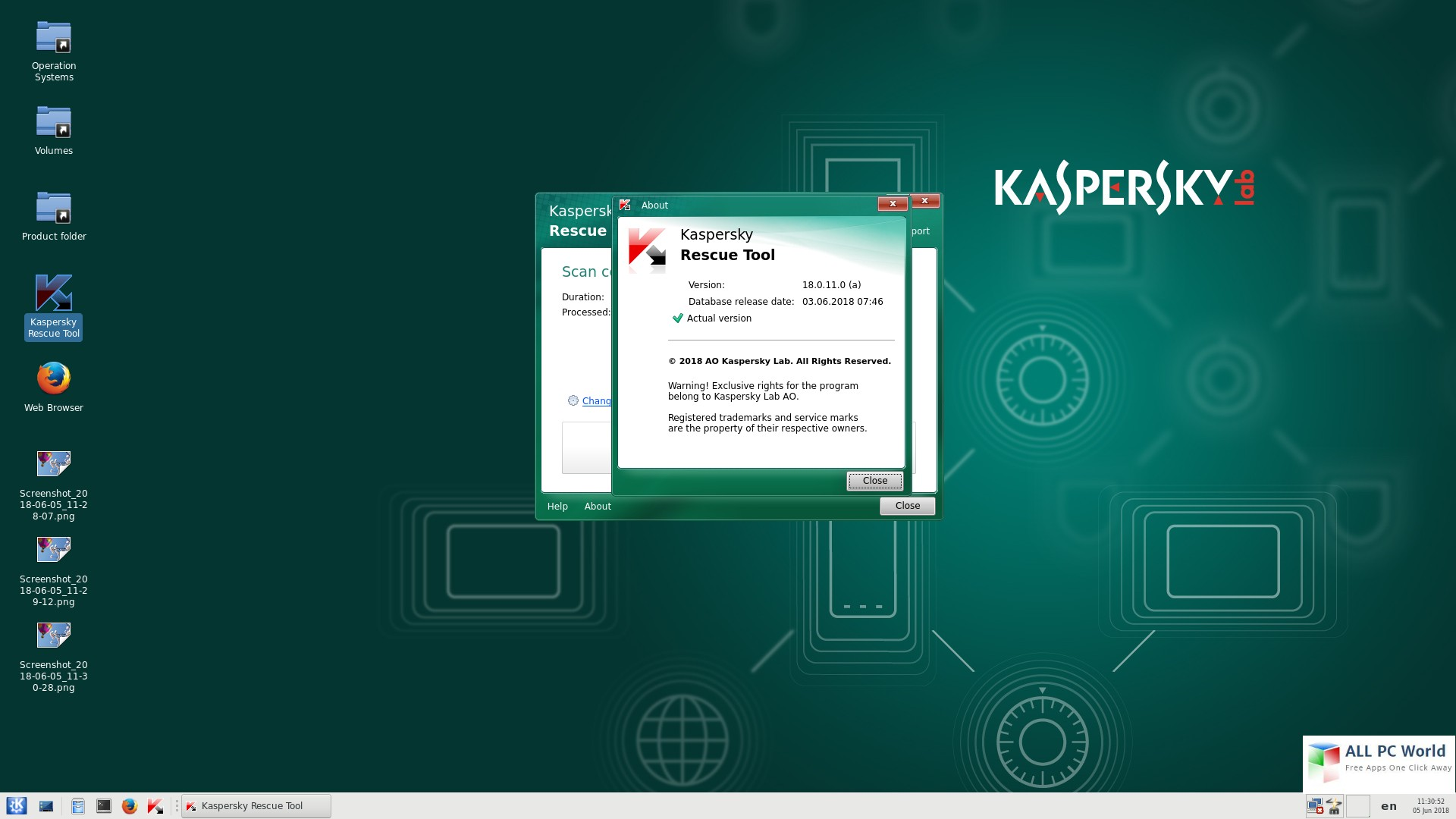 Kaspersky Rescue Disk 2018 18.0