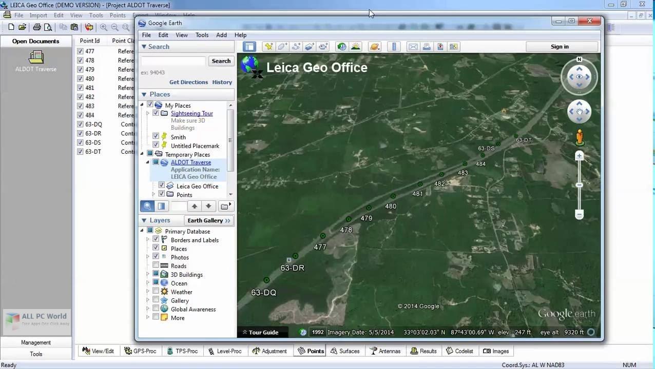 Leica GEO Office 8.3