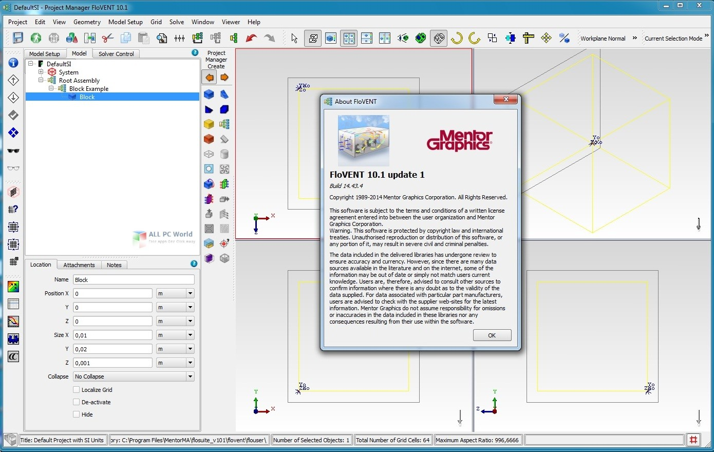 Mentor Graphics FloVent 10.1 Free Download
