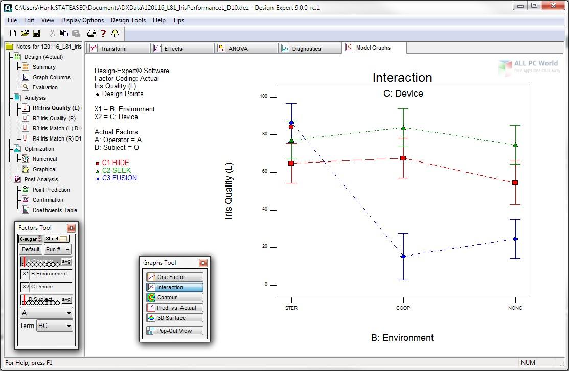 Stat-Ease Design-Expert 11.1 Free Download