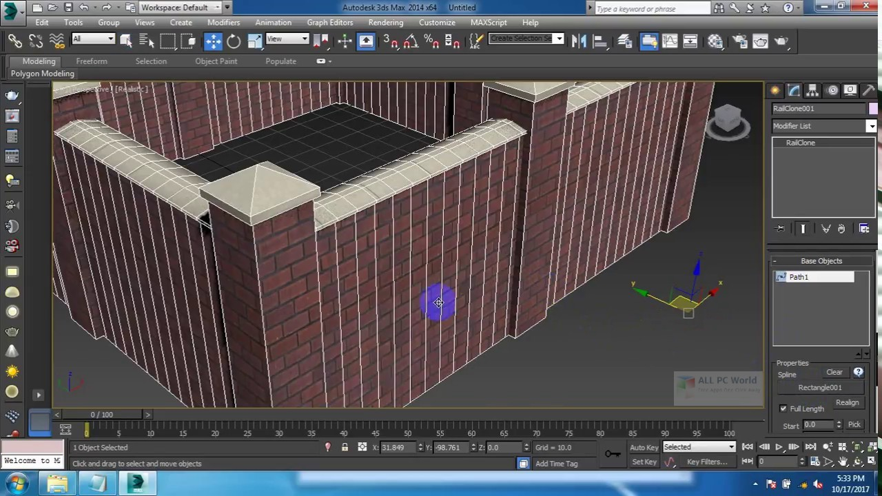 Itoo RailClone Pro 3.2.0 for 3ds Max 2015-2019