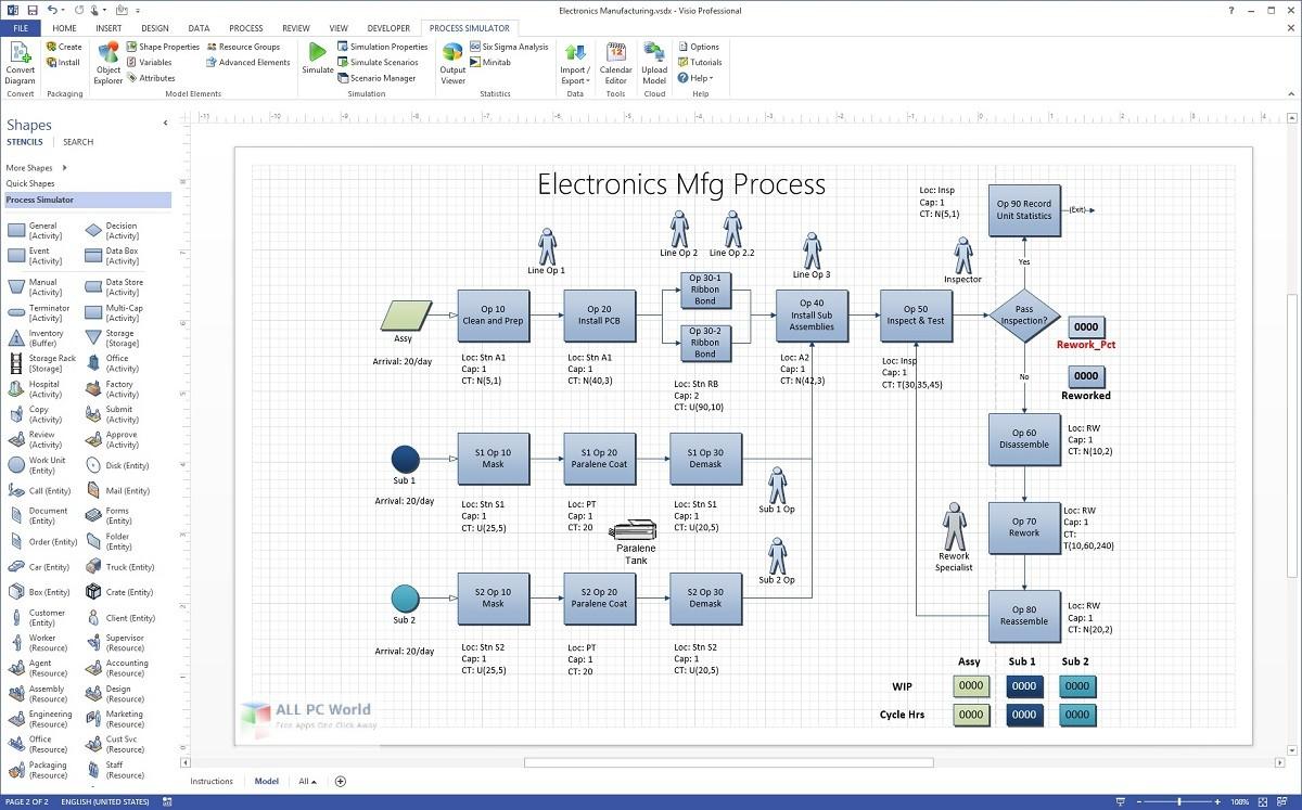 Microsoft Visio Professional 2016 16.0