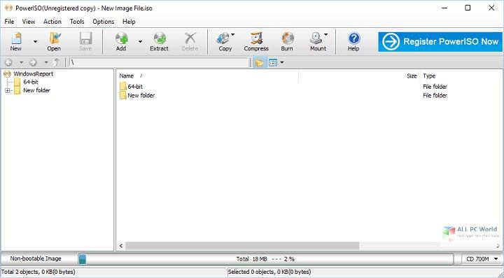PowerISO 7.3 Free Download