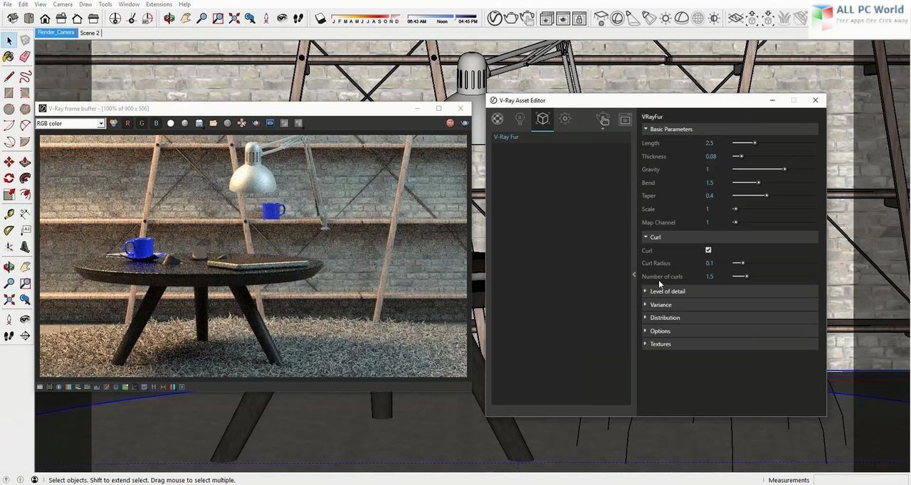 V-Ray 5 for SketchUp Free Download